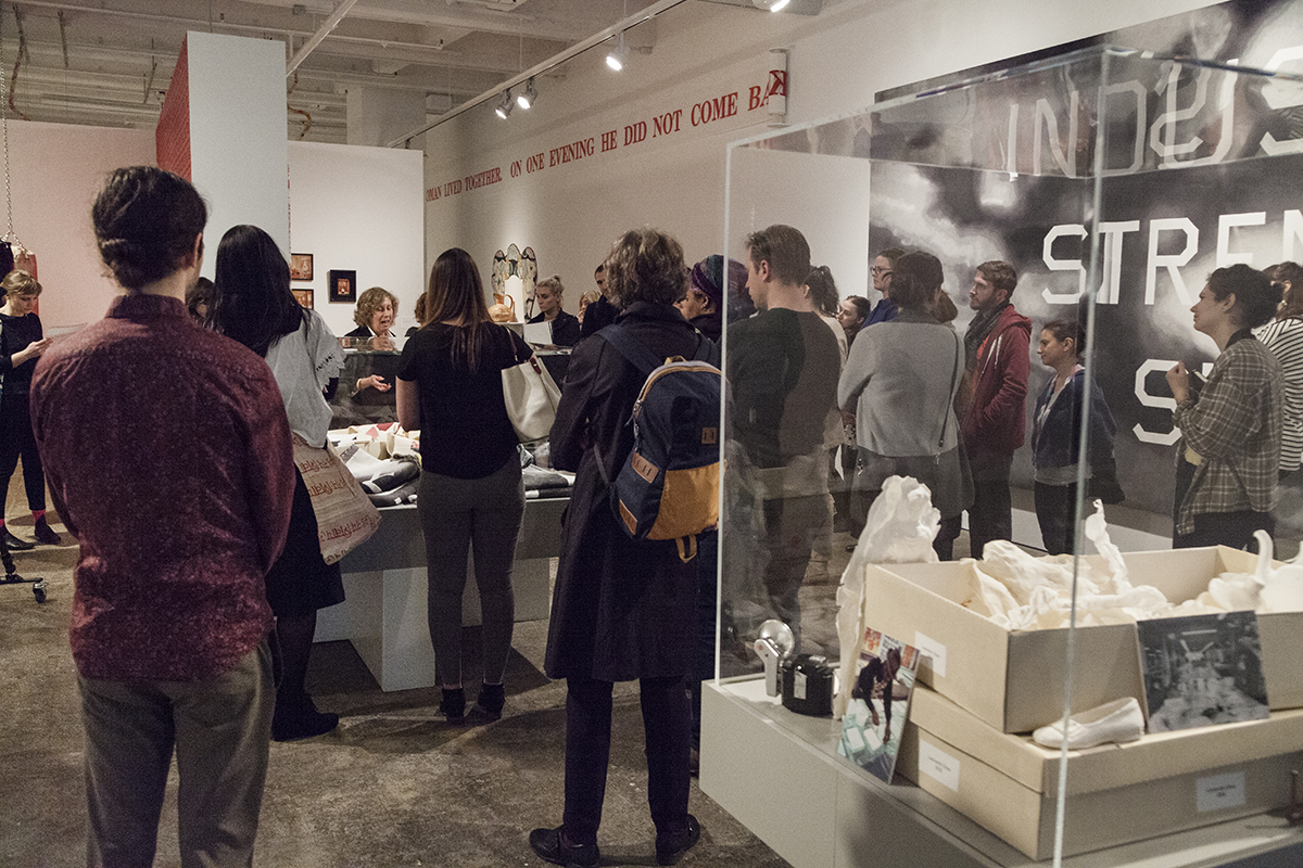 Gallery walkthrough of 'Process and Practice: 40 Years of Experimentation' with Susan L. Talbott